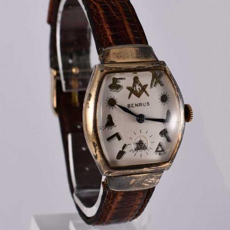 benrus-montre-vintage-occasion-1951-collection-maconnique-usa-boutique-montres-vintages-mostra-store-aix-en-provence