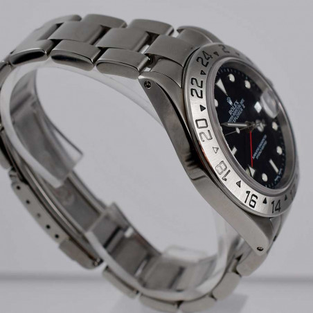 ヴィンテージコレクションウォッチコレクションのロレックス-rolex-explorer-16570-2003-vintage-watches-shop-mostra-store-aix-en-provence-france