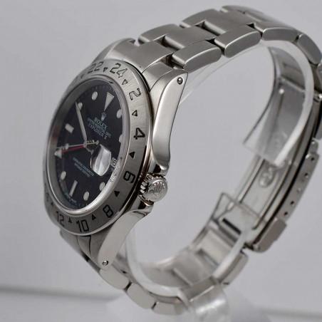古董收藏手表劳力士收藏-rolex-explorer-16570-vintage-GMT-2003-vintage-watches-shop-mostra-store-aix-en-provence-france
