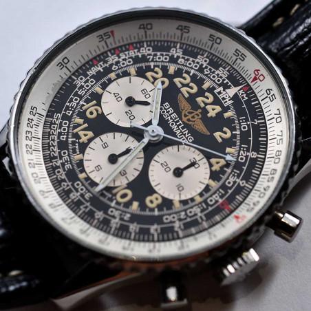 breitling-montre-cosmonaute-occasion-vintage-1994-guilt-calibre-12-chronographe-mostra-store-aix-provence-france