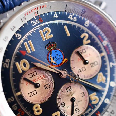 cadran-breitling-navitimer-1995-patrulla-aguila-spanish-air-force-montre-vintage-boutique-mostra-store-aix-en-provence-france