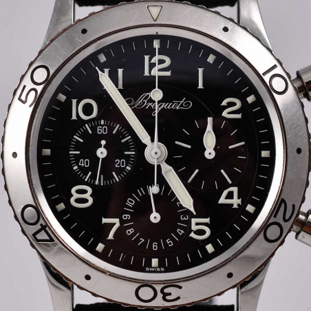 cadran-breguet-type-xx-chronographe-flyback-aeronavale-occasion-collection-luxe-classique-mostra-store-aix-en-provence