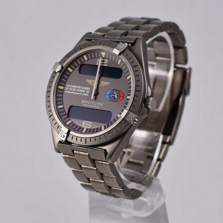 aerobatics-world-championship-1992-breitling-aerospace-titanium-vintage-watches-shop-mostra-store-aix-en-provence-france