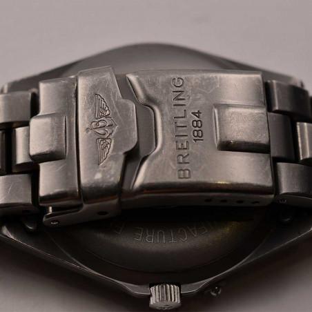boucle-deployante-bracelet-breitling-de-pilote-titanium-boutique-collection-vintage-mostra-store-aix-en-provence-france