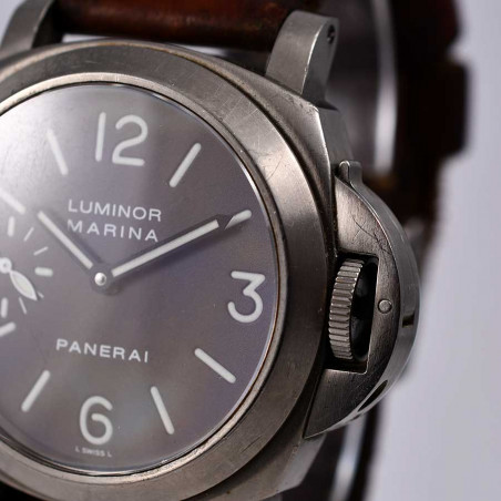 cadran-montre-panerai-luminor-marina-occasion-vintage-2002-collection-montres-plongee-boutique-mostra-store-aix-provence