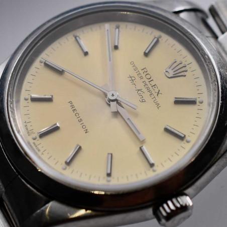 cadran-rolex-oyster-perpetual-airking-precision-vintage-14000-occasion-montre-collection-classique-mostra-store-aix-en-provence