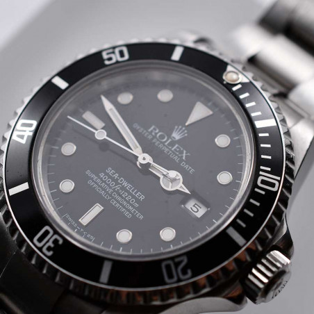 cadran-rolex-sea-dweller-vintage-16600-transitional-vintage-montre-plongeur-occasion-achat-mostra-store-aix-en-provence