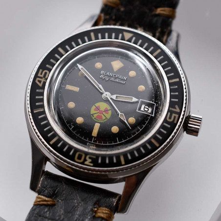 montres-occasion-vintage-blancpain-rayville-fifty-fathoms-1965-aqualung-boutique-mostra-store-aix-en-provence