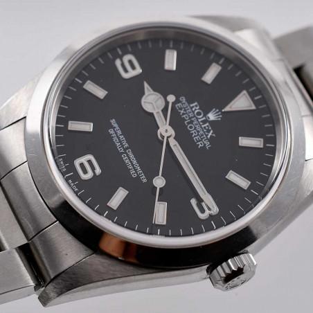 rolex-explorer1-vintage-14270-calibre-3000-occasion-collection-montres-homme-femme-mostra-store-aix-en-provence