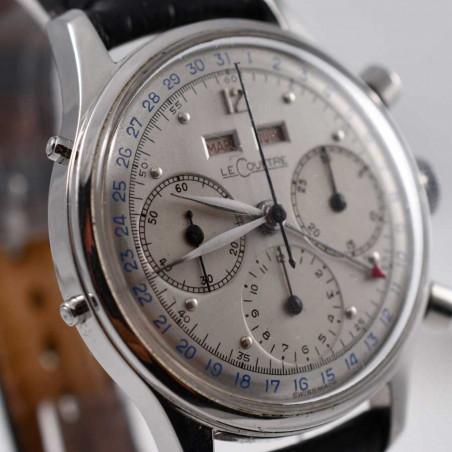 urhen-lecoultre-jaeger-tri-compax-quantieme-complication-1947-calibre-valjoux-72c-vintage-collection-aix-mostra-store-france