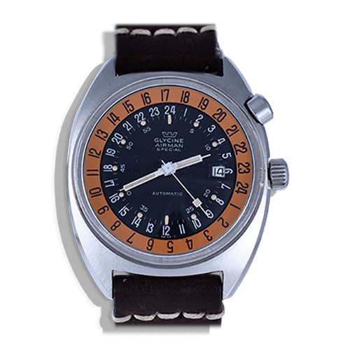 montre-glycine -airman-2-vintage-gmt-pilote-sst1-collection-occasion-aviation-best-shop-france-achat-expertise-aix