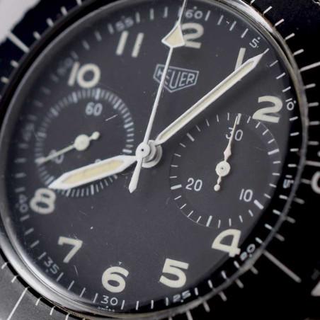 cadranmontre-heuer-fliegerchronograph-1550sg-collection-pilote-occasion-aviation-mostra-store-aix-en-provence