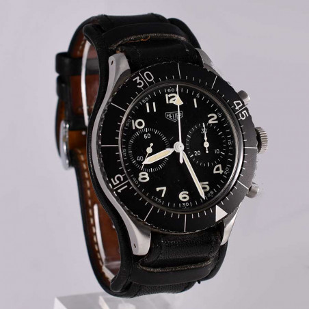 montre-heuer-flyback-fliegerchronograph-1550sg-collection-pilote-occasion-aviation-mostra-store-aix-en-provence