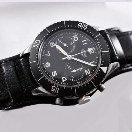 montre-de-pilote-flyback-heuer-fliegerchronograph-1550sg-collection-aviation-militaire-boutique-mostra-store-aix-en-provence