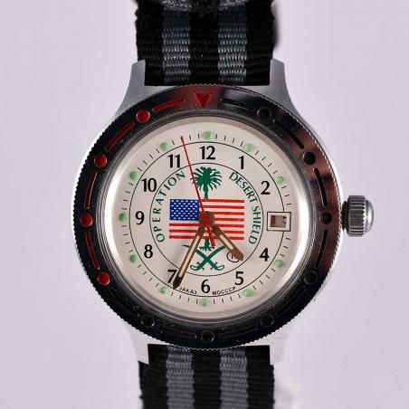 montre-militaire-veterans-guerre-du-golfe-aix-1997-us-army-navy-airforce-vostok