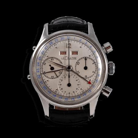 lecoultre-jaeger-tri-compax-watch-quantieme-complication-1947-calibre-valjoux-72c-vintage-collection-aix-mostra-store-france