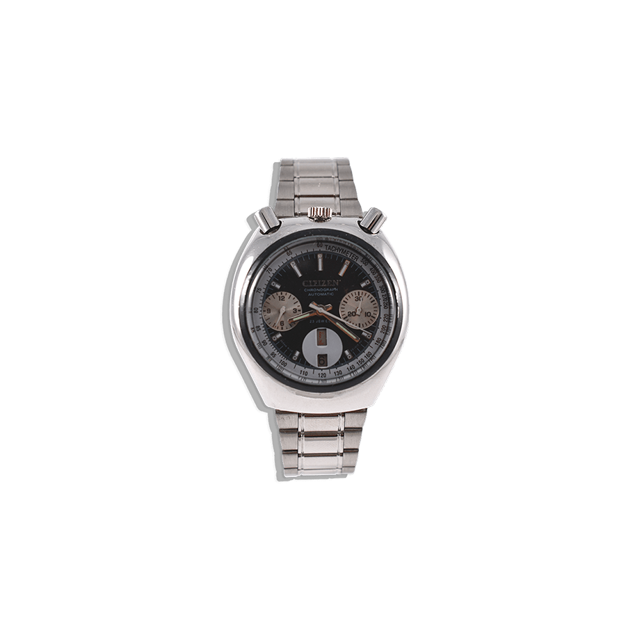 montre-citizen-bullehead-black-watch-dial-motard-seventies-collection-vintage-chrono-biker-mostra-store-aix-en-provence