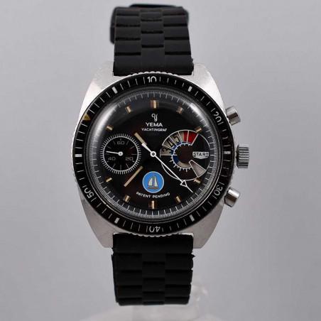 montre-yema-yachtingraf-jumbo-regate-voilier-bleu-valjoux-calibre-7733-special-1969-mostra-store-aix-en provence