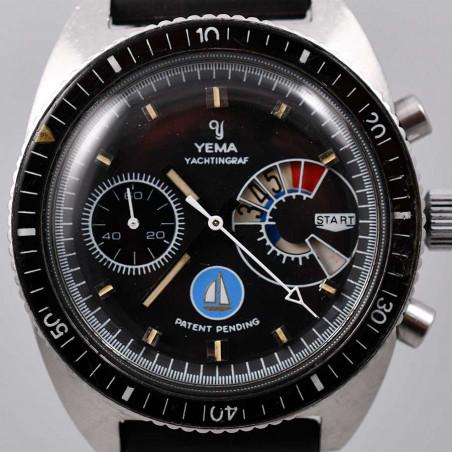 montre-yema-yachtingraf-jumbo-regate-voilier-bleu-valjoux-calibre-7733-special-1969-mostra-store-aix-boutique-montres-collection