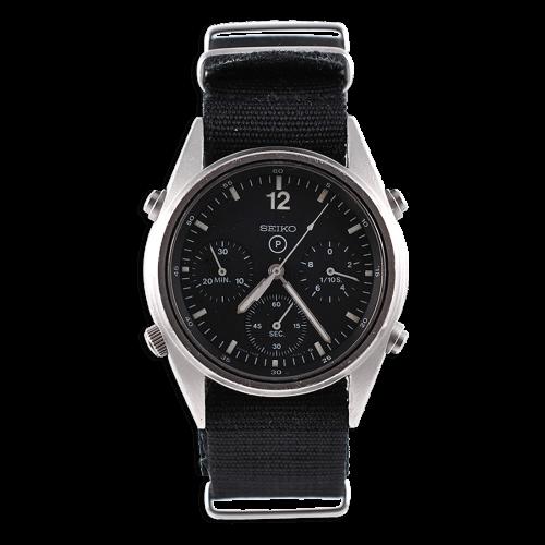 seiko-chronographe-montre-militaire-royal-air-force-circa-1986-mostra-store-specialiste-expert-montres-militaires-paris-aix