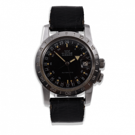 montre-glycine -airman-weems-vintage-gmt-pilote-collection-occasion-aviation-watches-mostra-store-shop-aix-paris-militaires