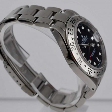 ヴィンテージコレクションウォッチコレクションのロレックス-rolex-explorer-16570-2003-vintage-gmt-watches-shop-mostra-store-aix-en-provence-france