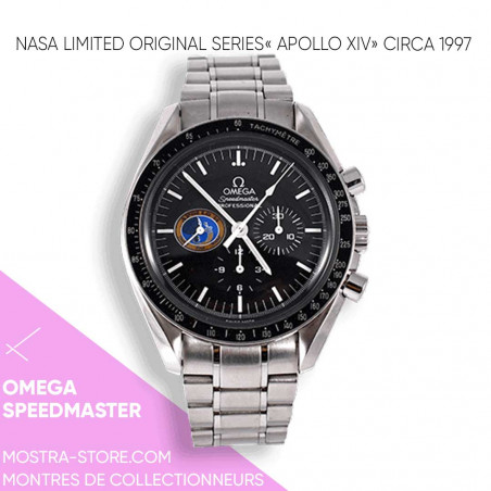 omega-limited-serie-nasa-moon-watch-montre-full-set-apollo-14-circa-1997-mostra-store-aix-cannes-nice