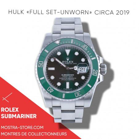 rolex-submariner-hulk-full-set-unworn-watch-montre-aix-en-provence-occasion