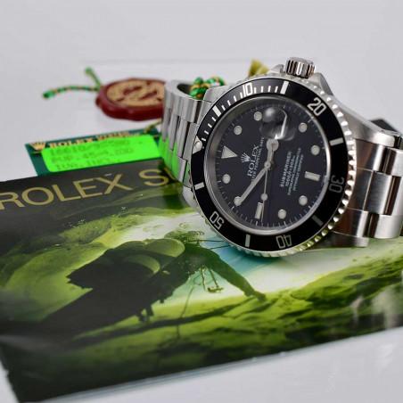 montre-vintage-rolex-submariner-16610-occasion-collection-recente-de-luxe-homme-aix-femme-provence-riviera-cannes-nice-paris