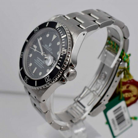 montre-vintage-rolex-submariner-16610-occasion-collection-recente-de-luxe-homme-aix-best-dealer-watches-shop-mostra-store-france