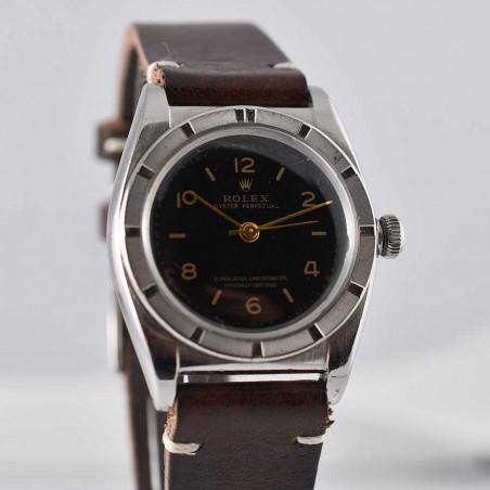 rolex-bubble-back-black-dial-3372-mostra-store-circa-1946-watch-montres-vintage-boutique-montres-de-luxe