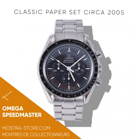 omega-speedmaster-papers-set-2005-chronos-et-courses-mostra-store-aix-marseille