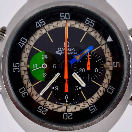 montre-omega-vintage-flightmaster-collection-occasion-aix-boutique-france-pilote-aviation-mark-I-expertise-achat-vente-mostra