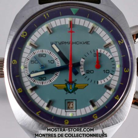 poljot-sturmanskie-russian-air-force-chronograph-pilot-montres-militaires-mostra-store-aix-boutique-dial-cadran