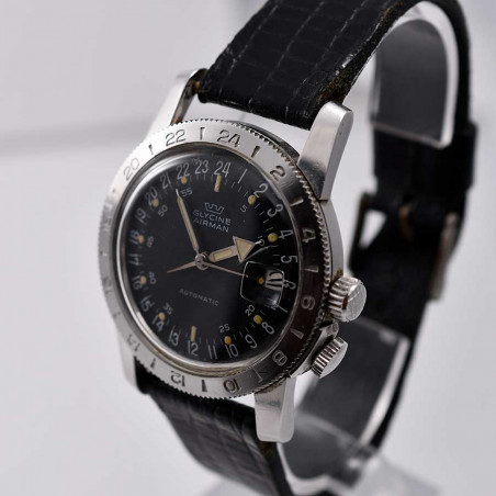 montre-glycine -airman-weems-vintage-gmt-pilote-collection-occasion-aviation-watches-mostra-store-shop-aix-expertise-achat