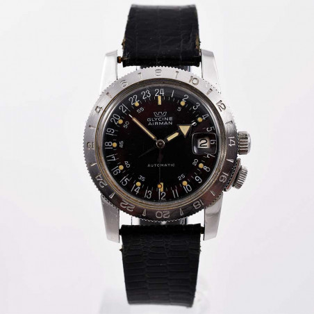 montre-glycine -airman-weems-vintage-gmt-pilote-collection-occasion-aviation-watches-mostra-store-shop-aix
