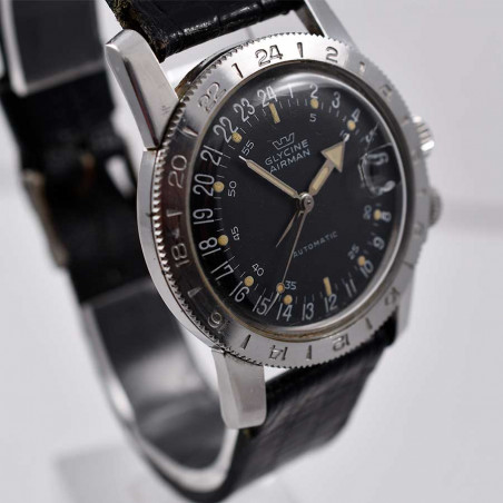 montre-glycine -airman-weems-vintage-gmt-pilote-collection-occasion-aviation-watches-mostra-store-shop-aix-france