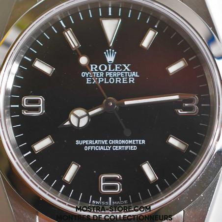 rolex-explorer-1-vintage-14270-achat-vente-meilleure-boutique-montres-de-luxe-rolex-mostra-store-aix-en-provence-marseille