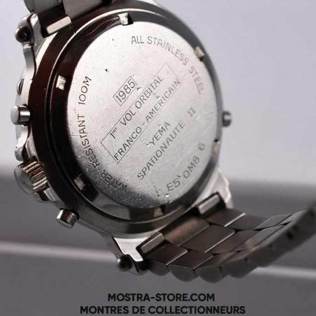 montre-yema-spationaute-ii-space-watch-mostra-store-aix-boutique-espace-aviation-vintage-baudry-flight