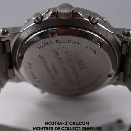 montre-yema-spationaute-ii-space-watch-mostra-store-aix-premier-vol-orbital-france-usa-nasa-cnes