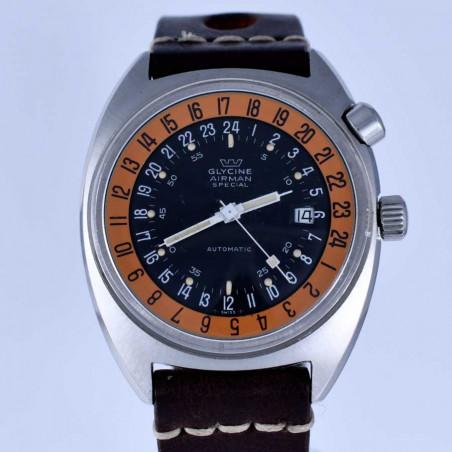 montre-glycine -airman-2-vintage-gmt-pilote-sst1-collection- occasion-aviation-meilleure-boutique-france-achat-expertise-aix