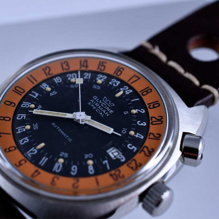 montre-glycine -airman-2-vintage-gmt-pilote-sst1-collection- occasion-aviation-concorde-supersonique-aix