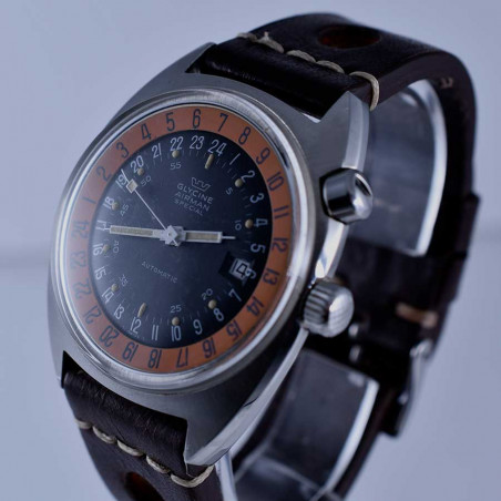 montre-glycine -airman-2-vintage-gmt-pilote-sst1-collection- occasion-aviation-achat-expertise-aix-marseille-provence