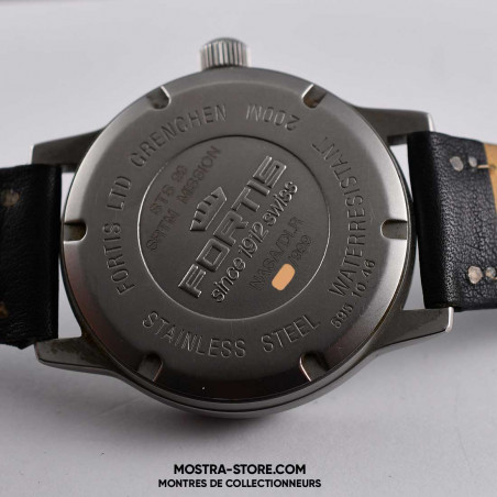 montre-fortis-nasa-sts-99-x-sar-strm-limited-edition-2000-mostra-store-aix-markings-back-dos-marquages