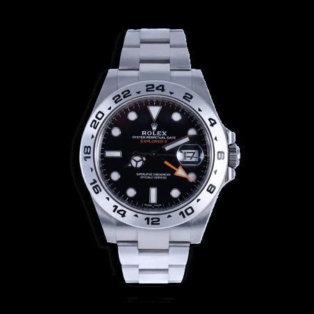 montre-collection-moderne-rolex-explorer-2-216570-occasion-luxe-boite-papiers-boutique-mostra-store-aix-provence-watches