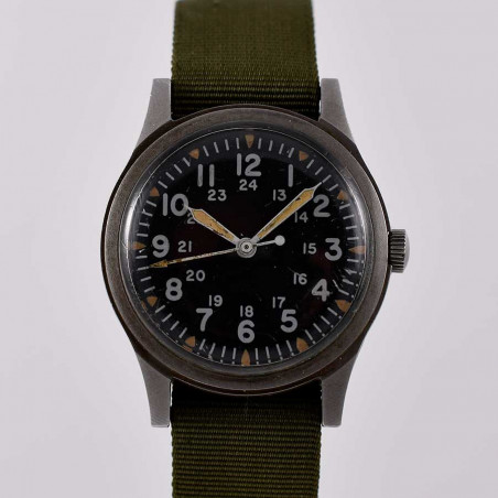 montre-hamilton-militaire-military-watch-vintage-pilote-us-air-force-aviation-collection-occasion