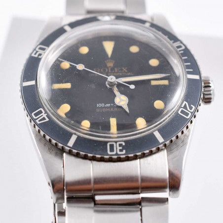 montre-rolex-submariner-6536/1-collection-1958-calibre-1030-james-bond-007-boutique-vintage-mostra-store-aix-paris-france