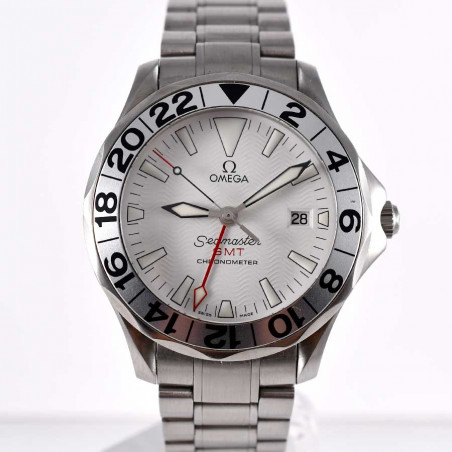 montre-omega-seamaster-gmt-vintage-yatching-nautique-sports-occasion-collection-mostra-store-aix-provence