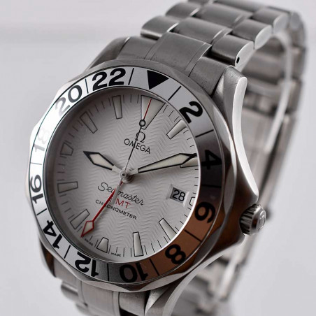 montre-omega-seamaster-gmt-vintage-yatching-nautique-sports-occasion-collection-etanche-mostra-store-aix-provence