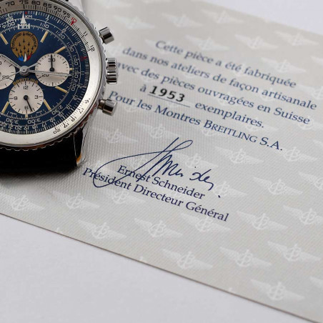 montre-breitling-pilote-collection-navitimer-patrouille-france-vintage-occasion-moderne-luxe mostra-store-aix-provence-aviation